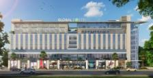 Pre Leased Bare Shell Commercial Office Space 1500 Sq.ft For Sale In Global Foyer Mall Golf Course Road Gurgaon